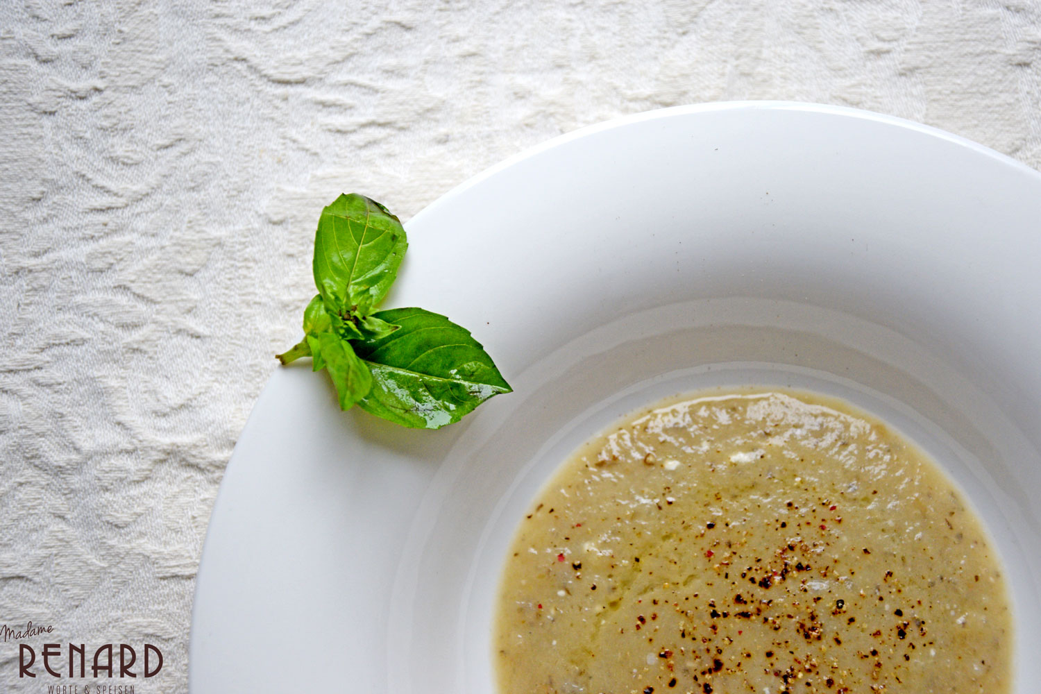 Topinambur Suppe, Foto: Madame Renard