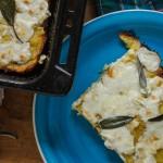 """Kartoffel-Ziegenkäse-Pizza von """"Madam Rote Rübe"""" (Gastbeitrag)"""