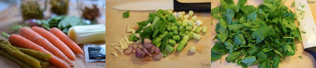 Gemüseplatte mit Rinderfilet, Foto: Madame Renard