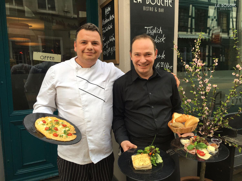 Frühstück Andi und Olaf, Foto: La Bouche