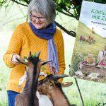 Madam Rote Rübe über ihr Ziegenkäse-Kochbuch