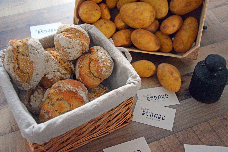 Kartoffelbroetchen, Foto: Madame Renard